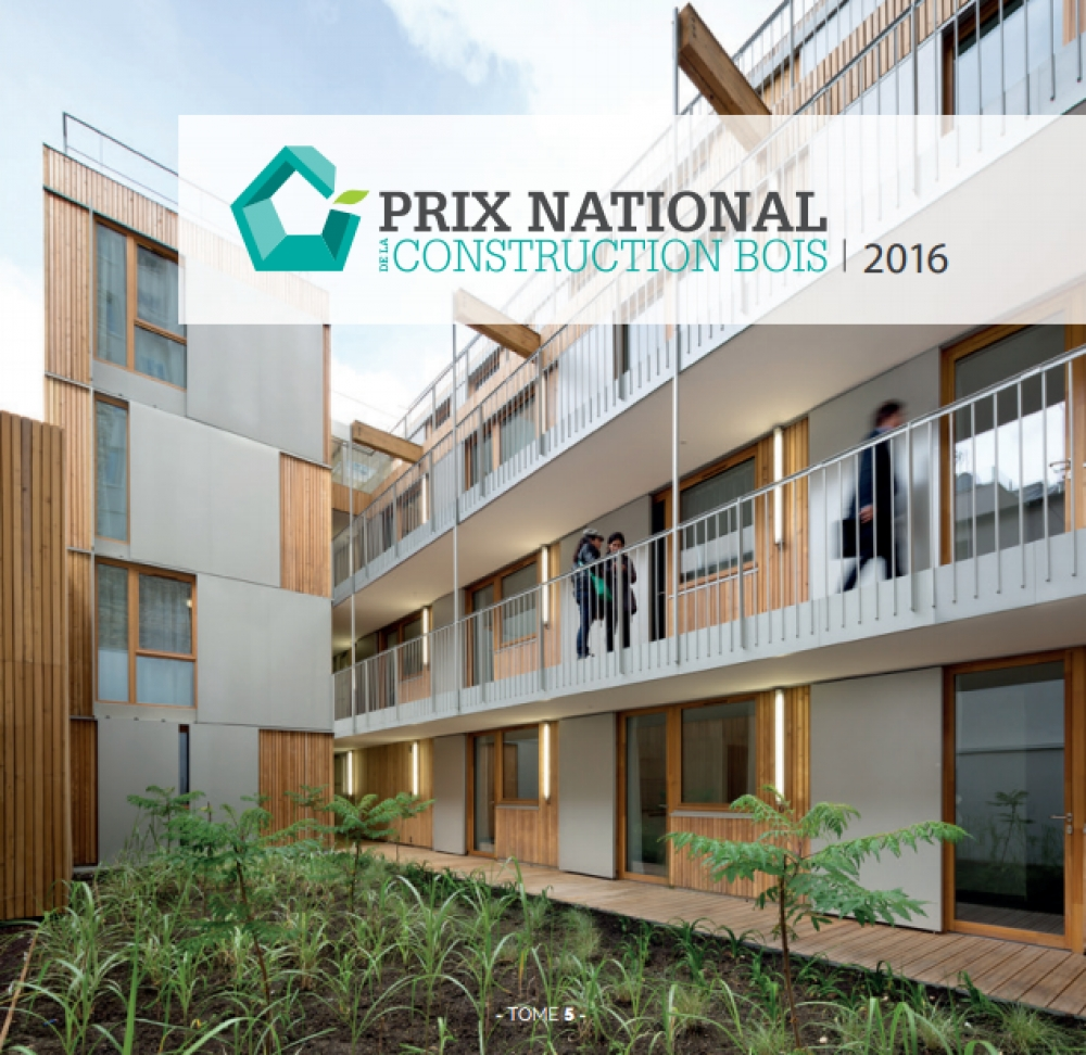 Prix national de la construction bois 2016 for Prix de construction